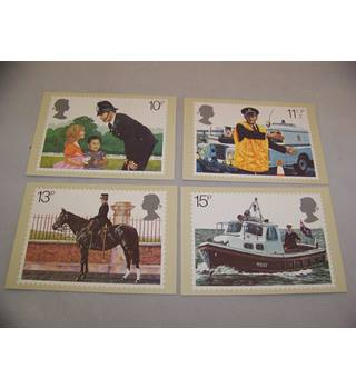 royal mail postcards - police