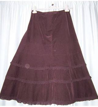 Monsoon - Size: 10 - Purple - Calf length skirt