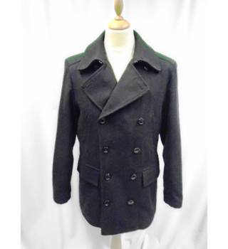 Wolsey Collection - Size: M - Blue - Navy Pea Coat