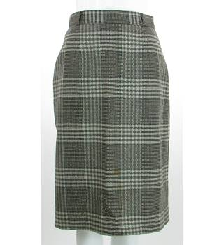VINTAGE - Planet - Size:8  - Brown - Pure New Wool Skirt