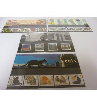 4 Royal Mail Presentation Packs