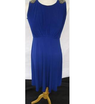 Ariella - Electric Blue Party Dress - Lined - Size 10 UK