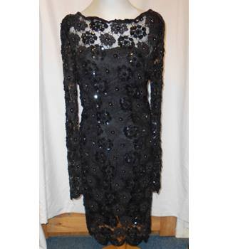 Leslie Fay Eveningwear dress Leslie Fay - Size: 6 - Black - Cocktail dress