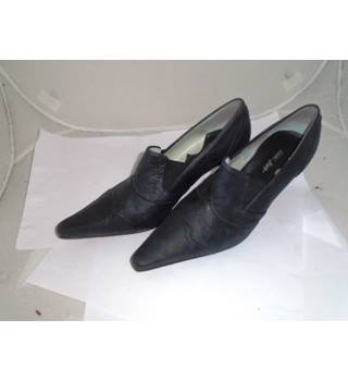 Vicki Beth- Size : 6 - Black -  Heeled shoes