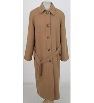 Alexon Size:M camel winter wool coat