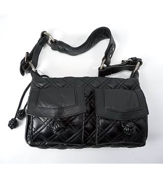 In Wear - Size: One size/medium - Black Leather - Ladies' Shoulder Bag