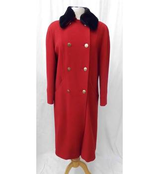 Lampert petite - Size: 12 - Red - Smart jacket / coat