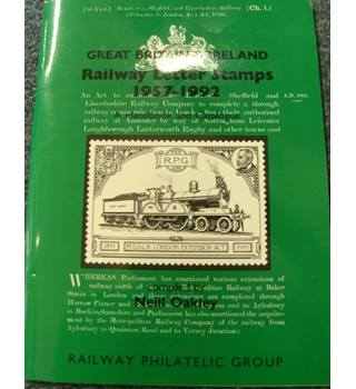 Great Britain & Ireland railway letter stamps 1957-1992