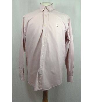 Ralph Lauren Pink Yarmouth Oxford Shirt in 15.5 inch collar size