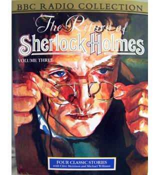 Return of Sherlock Holmes vol.III (Three Students/ Golden Pince-Nez/ Missing 3-Quarter/ Abbey Grange 2 tapes)