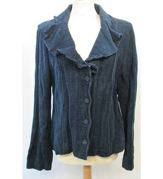 Rosie's R L.F.Coll - Size: 12 - Dark Blue Velvet with sparkle - Casual jacket