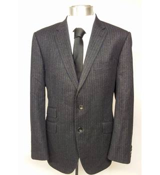 M&S Marks & Spencer blue suit jacket - Size: L - Blue - Jacket
