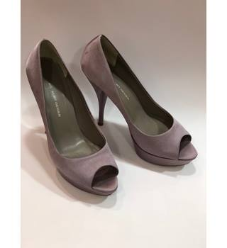 KG BY KURT GEIGER Lilac Platform Stiletto Peep Toe Court Shoes - UK Size 6