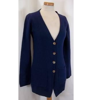 Marilyn Moore - Size: 10 - Navy Blue - Cashmere Cardigan