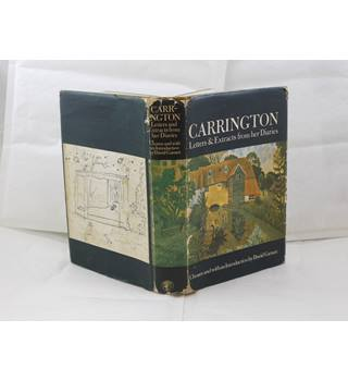 Carrington, Letters & Extracts from her diaries by David Garnett publ Jonathan Cape Ltd 1970 illustrated