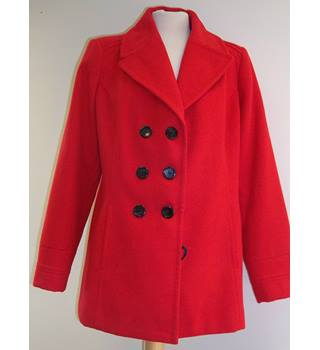 BHS - Size: 14 - Red - Smart jacket / coat