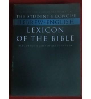 Student's Concise Hebrew-English Lexicon of the Bible