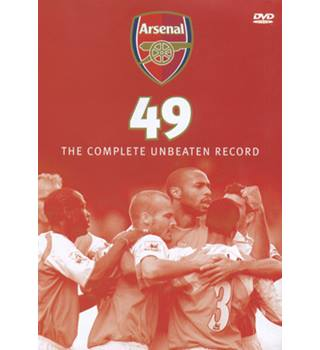 ARSENAL FC 49 - THE COMPLETE UNBEATEN RECORD Non-classified