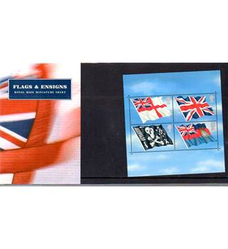 Flags & Ensigns Royal Mail Miniature Sheet