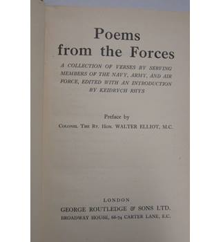 Poems from the forces