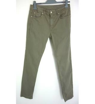 "Brooklyn Supply Co Size: M, 32"" waist, 32"" inside leg, slim fit Olive Grey  Casual/Stylish Cotton Jeans"