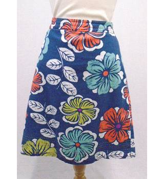 Laura Ashley - Size 10 - Blue Floral - Skirt