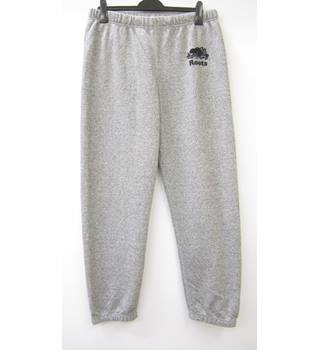 Roots - Size: M - Grey - Sweat pants