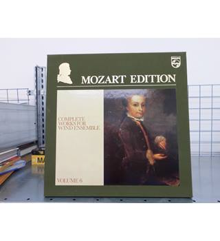 Wolfgang Amadeus Mozart ‎– Mozart Edition 6 ● Complete Works for Wind Ensemble Mozart - 6747 379