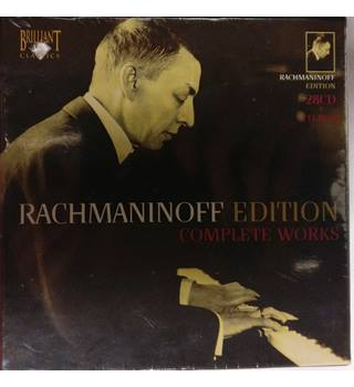 RACHMANINOFF EDITION COMPLETE WORKS