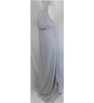 NWOT Dessy Collection, size 14 stone chiffon layered evening dress.