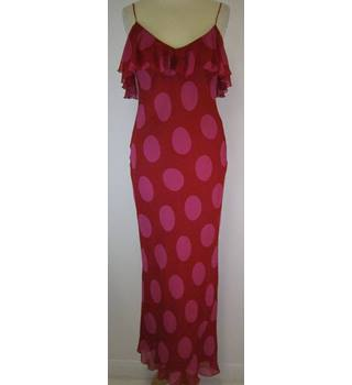 August Silk - Size: 10 - Red - Long dress