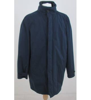 NWOT M&S Collection size L Navy Blue Coat