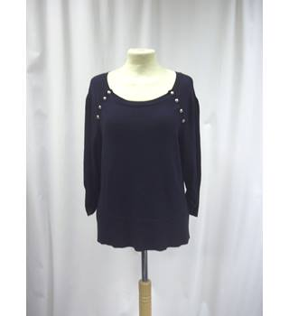 Phase Eight - Size: 12 - Navy Blue - Long Sleeved top