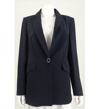 M&S Marks & Spencer Size 12 Navy Suit Jacket