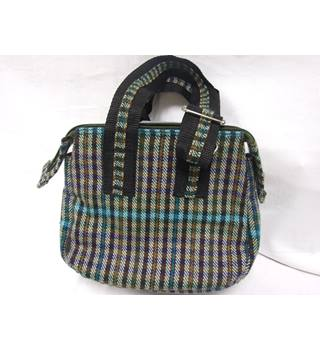 Women's Checked Small Handbag Waterlily by Christine Gauther - Size: One size - Multi-coloured - Handbag