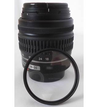 Pentax 18~55 Lens with UV Filter