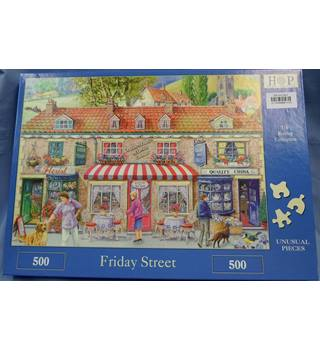 "Jigsaw Puzzle  500 piece ""Friday Street"""