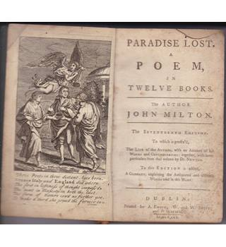 Paradise Lost A Poem in Twelve Books