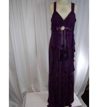 Betsy and Adam size 12 long dress