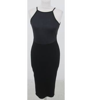 River Island  Size:10 black slinky dress