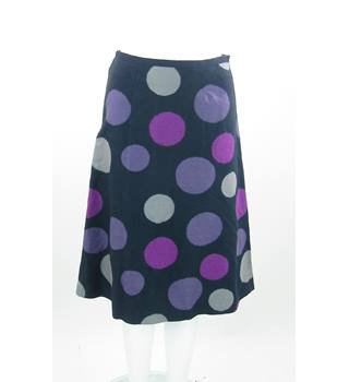 Laura Ashley - Size: 10 S - Purple - A-line skirt