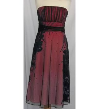 Coast-Size 10-Deep Pink-Strapless Dress.