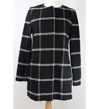 "Next - Size: M (36"" bust) - Black - Ladies' Long-length Casual Knitted Coat"