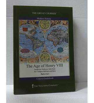 The Great Courses; The Age of Henry VIII