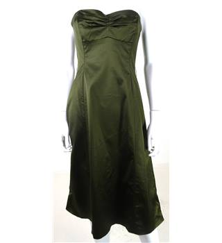 Coast Size: 10 Forest Green Cocktail Dress