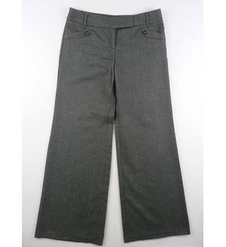 M&S Marks & Spencer - Size: 12 - Grey - Trousers