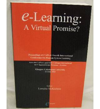 e-learning: A Virtual Promise