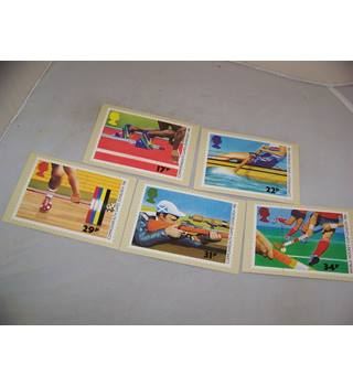royal mail postcards - sports