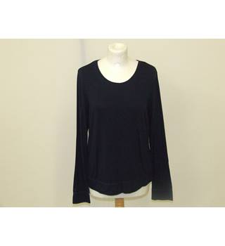 WOMENS LONG SLEEVED TOP  - MONSOON Monsoon - Size: 14 - Blue - Long sleeved shirt