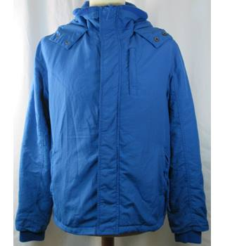 Cedar wood state - Size: L - Blue - Coat